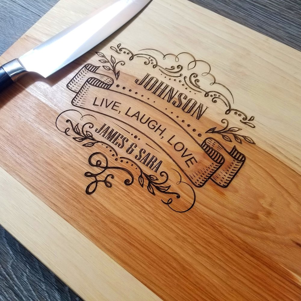 "Hickory WoodCutting Board - $79.9912"" x 15""(**orders placed after an item has sold out will be fulfilled once our new inventory arrives. please contact us if you have any questions.)"