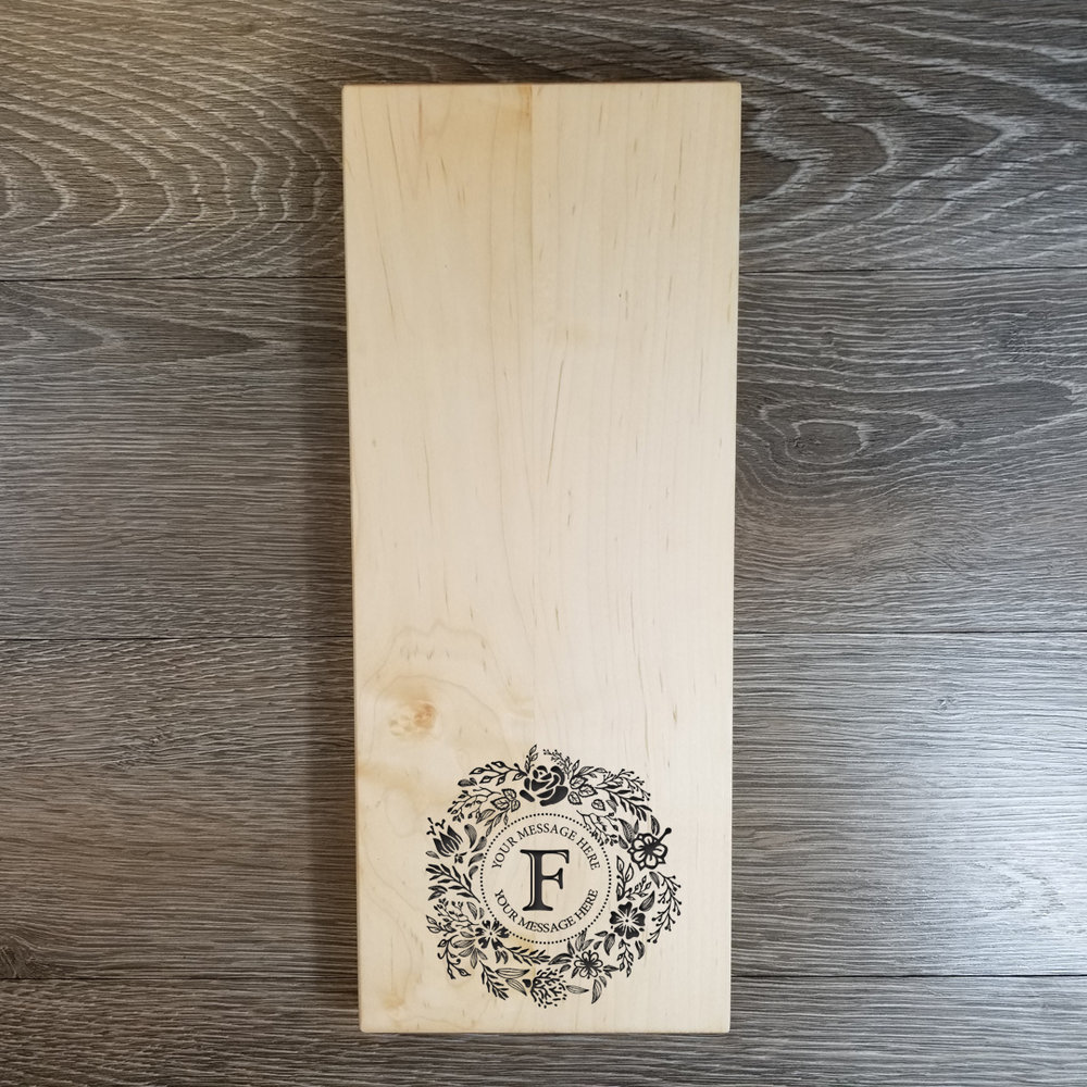 "Maple WoodCheese Board - $69.996"" x 15""(**orders placed after an item has sold out will be fulfilled once our new inventory arrives. please contact us if you have any questions.)"