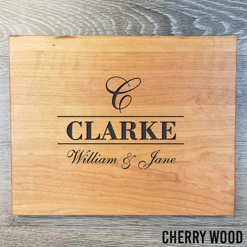 """Cherry Wood Cutting Board - $77.9912"""" x 15""""(**orders placed after an item has sold out will be fulfilled once our new inventory arrives. please contact us if you have any questions.)"""