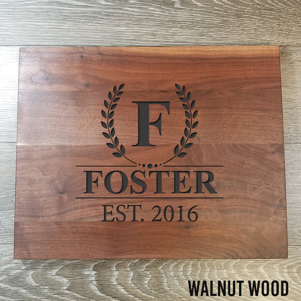 """Walnut WoodCutting Board - $77.9912"""" x 15""""(**orders placed after an item has sold out will be fulfilled once our new inventory arrives. please contact us if you have any questions.)"""