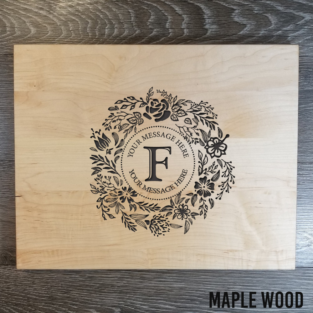 """Maple WoodCutting Board - $74.9912"""" x 15""""FEW REMAINING! (**orders placed after an item has sold out will be fulfilled once our new inventory arrives. please contact us if you have any questions.)"""