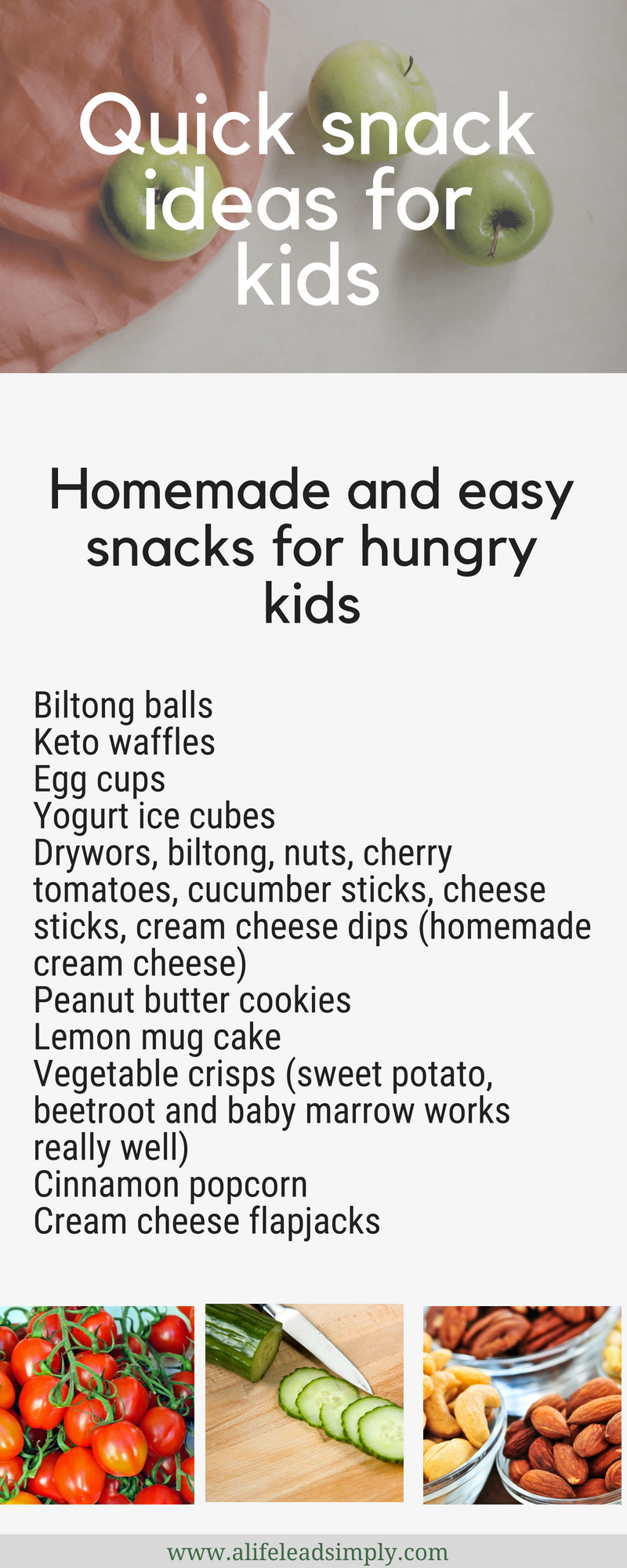 Kids, Quick & easy snack ideas, LCHF Zero sugar, A life lead simply, www.alifeleadsimply (3).png