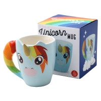 Unicorn mug - Get your little one something to associate with the habit of reading, like making a cup of tea and then snuggling in with a book. This unicorn mug is from Big Blue
