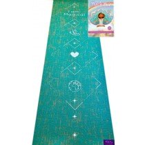Yoga set - Get into yoga, as a family. This set comprising of a yoga mat and a book with kid-friendly poses is from Faithful to Nature