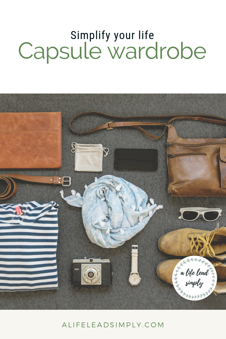 Simplify your life, improve your productivity, change to a capsule wardrobe - free printable planner with essentials, A life lead simply (4).png