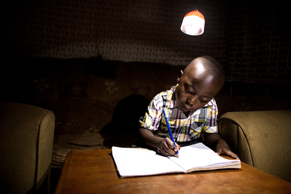Designed to replace kerosene lamps -