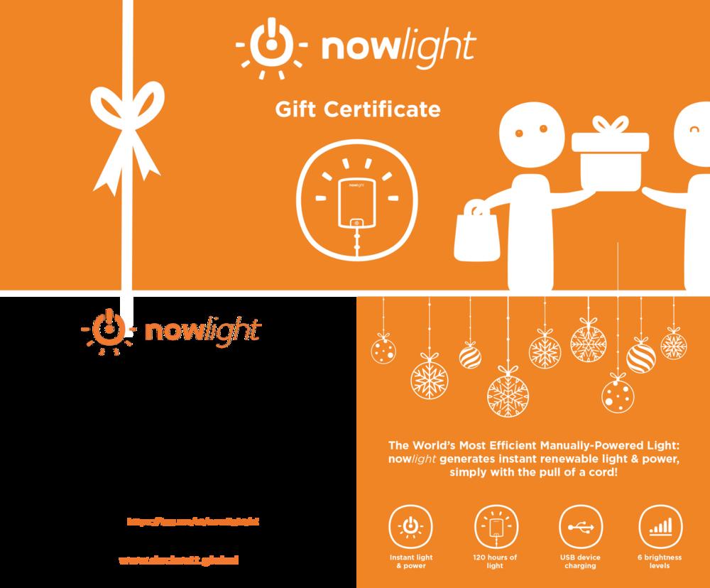nowlight gift & donation