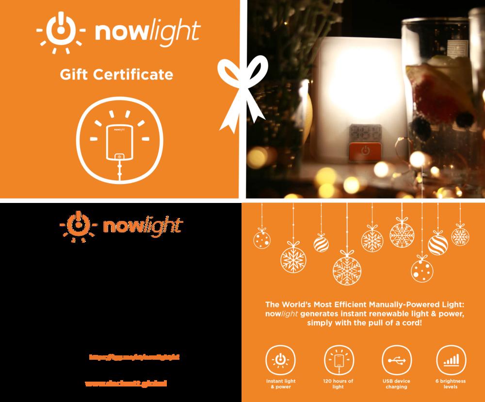 nowlight gift & donation photo