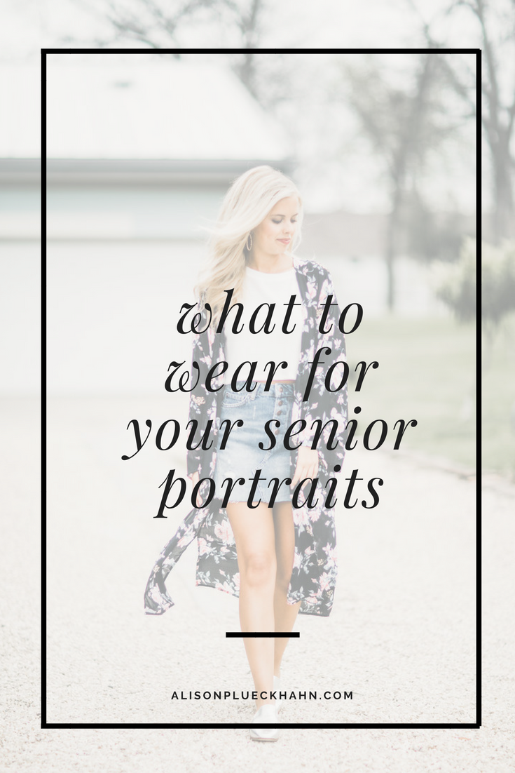What to Wear for Your Senior Portraits: A Guide