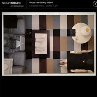 Blouin Art Info, 2013