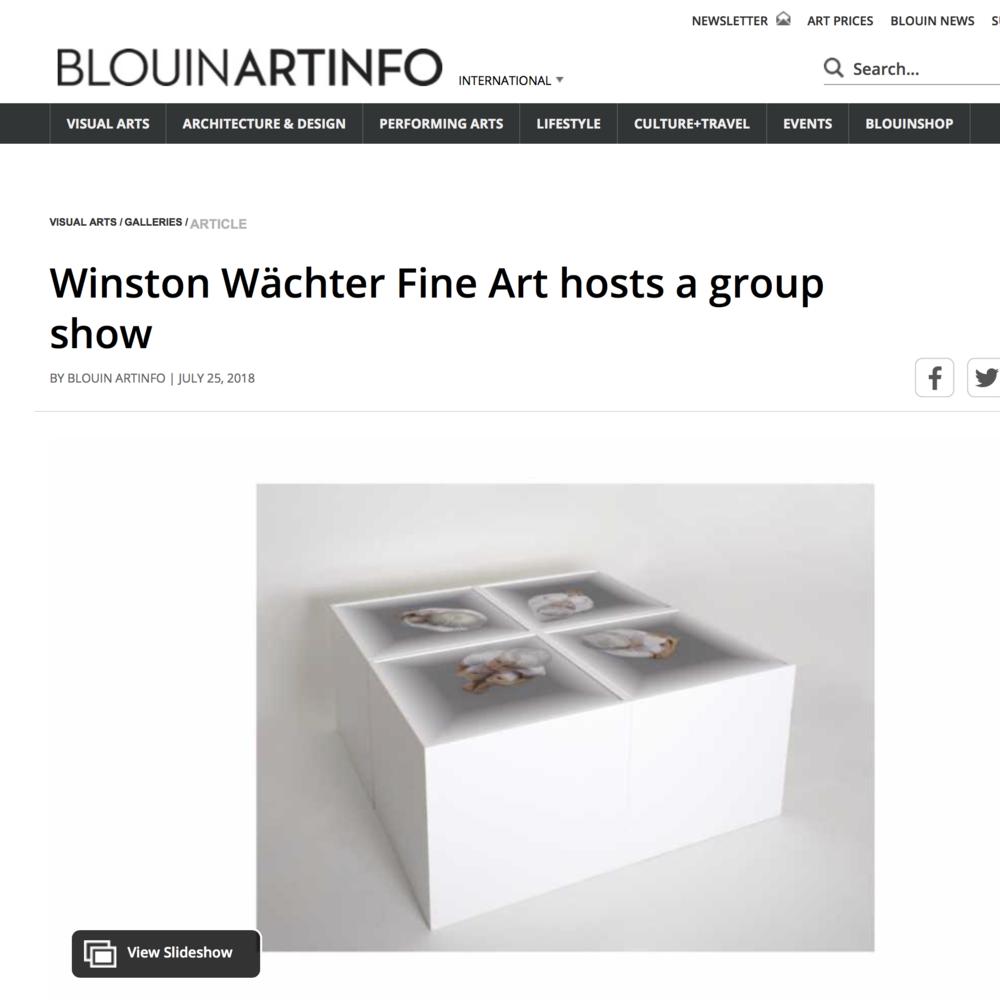 Blouin Art info, 201 8