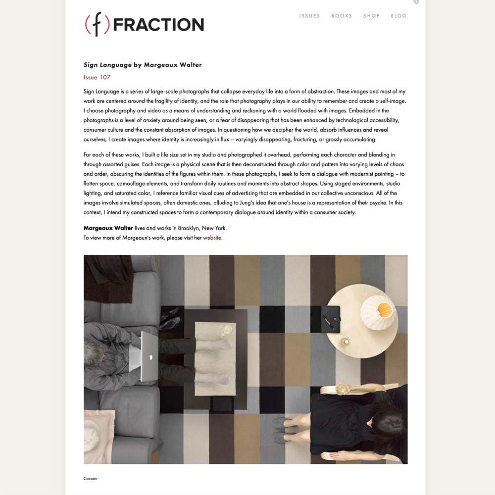 Fraction Magazine, 2018