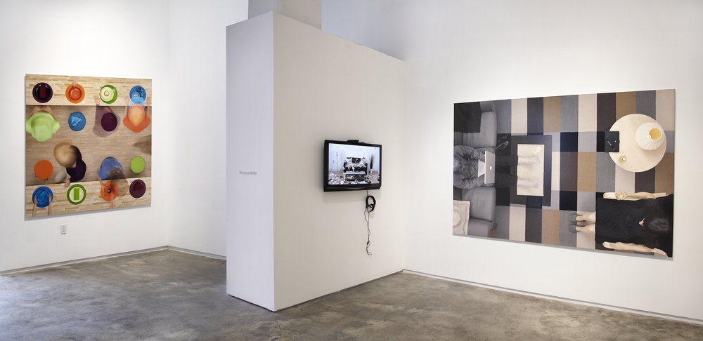 Installation Image of Sign Language Series (for scale context)
