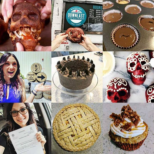 Bring it on 2019! 💪 #bestnine2018 #confections #desserts #dessertislife #pie #lattice #cupcakes #peanutbuttercups #chocolate #oreocake #cake #skull #pizzaskulls #pizza #foodpopup #catering #wholesale #foodporn #food #nom #bakeittilyoumakeit #craftbeer #beer #eatlocal #drinklocal #maldenma #2019herewecome
