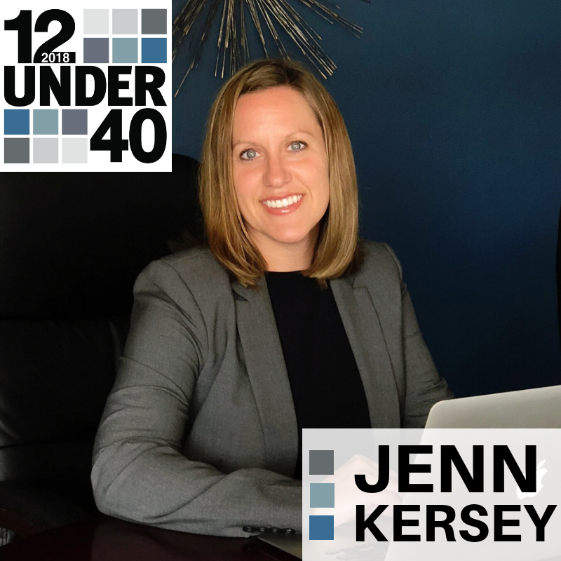 A STRONG WORK ETHIC:  JENN KERSEY, CHIEF OPERATING OFFICER AT RJL SOLUTIONS.