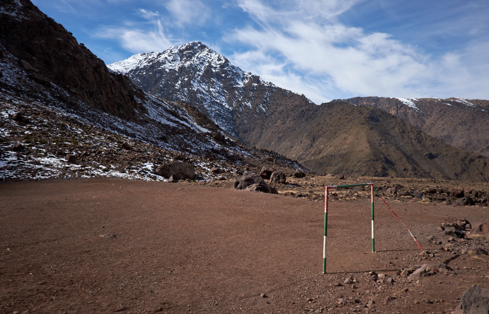 Football Pitch, Atlas Mountains.