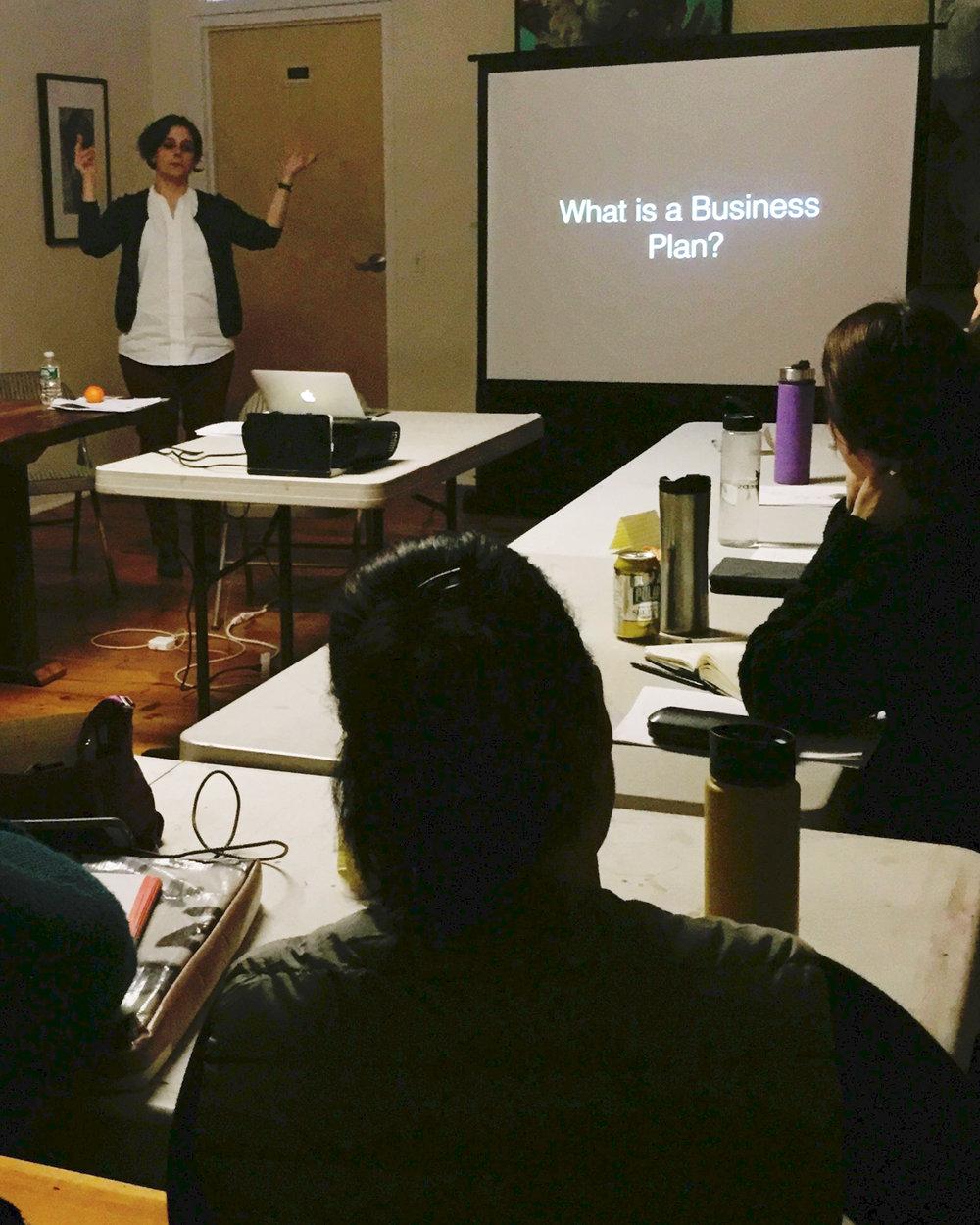 Understanding Your Art Practice as a Business - WORKSHOP