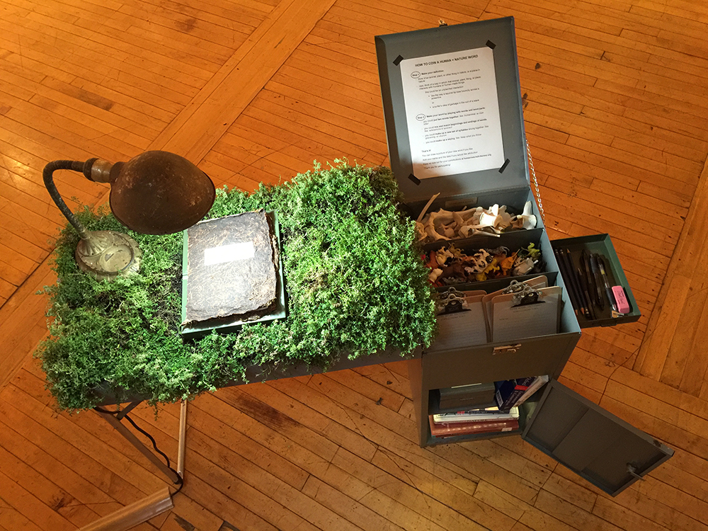 Freedom Baird,  Human Nature Field Desk and Dictionary,  2016-present