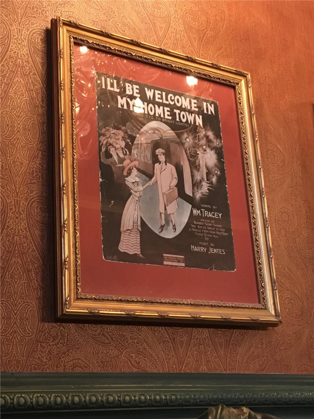 """I'll Be Welcome in My Hometown"" at the Grand Concourse, Pittsburgh, PA."