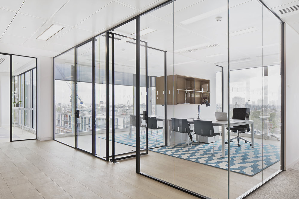 Labelux office headquarters, London, Universal Design Studio