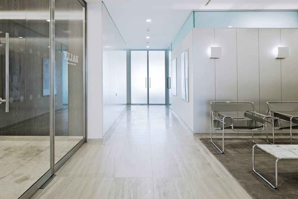 Bally office headquarters, London, Universal Design Studio