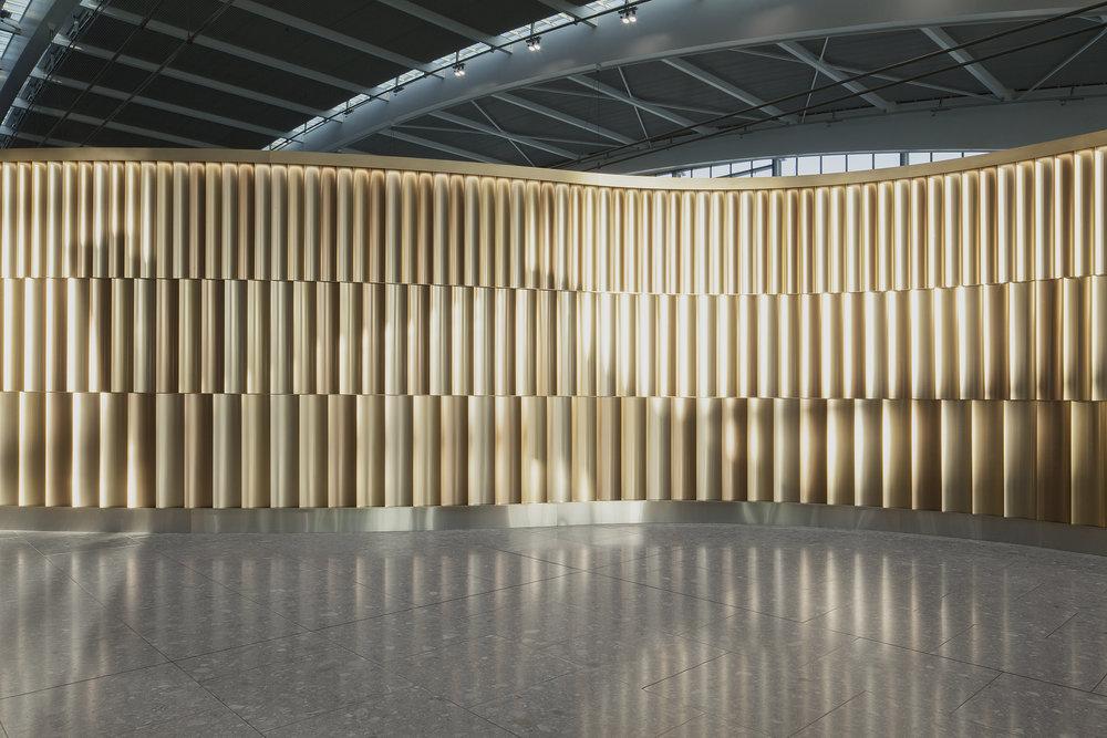 British Airways First Wing, Heathrow Terminal 5, Universal Design Studio