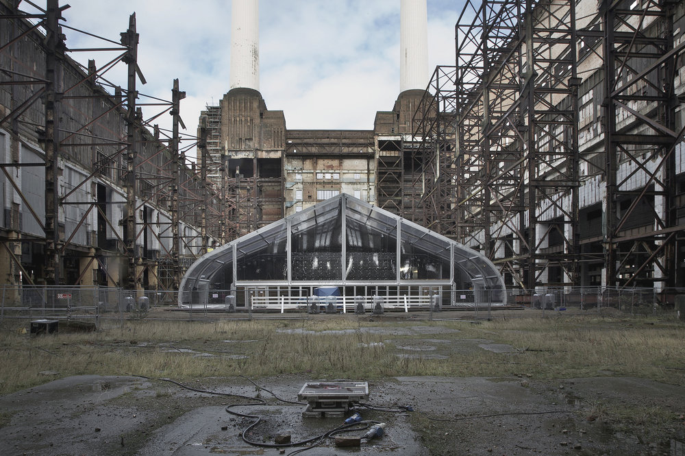 Nike Mercurial Launch, Battersea Power Station, Stage One UK
