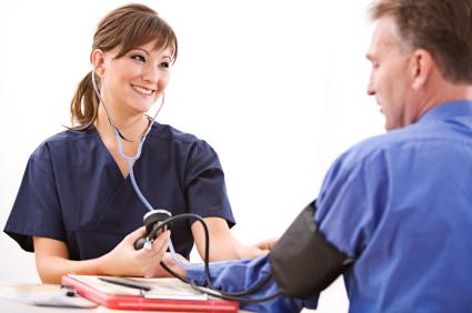 blood pressure -