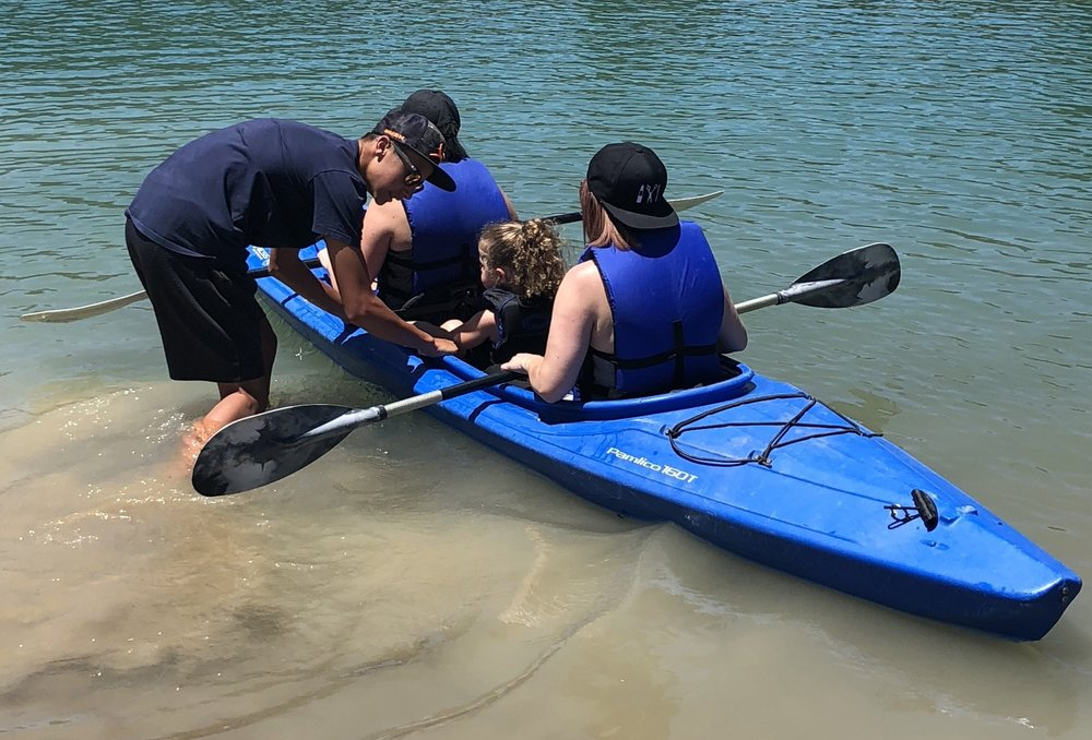 Kayaks - Kayak on your own or with a friend in one of our single and double kayaks.