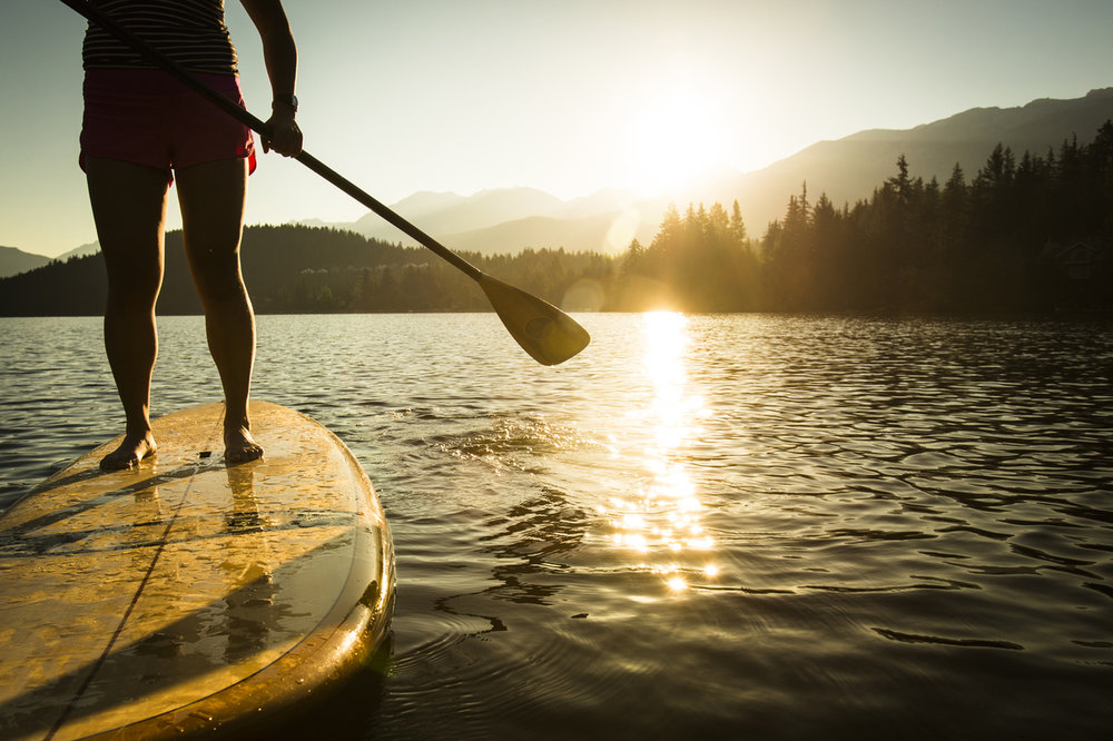 Paddle boards - Grindstone Lake is a picture perfect place for paddle boarding.
