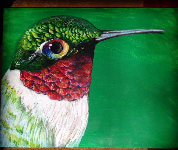 Ruby Throated Hummingbird.png