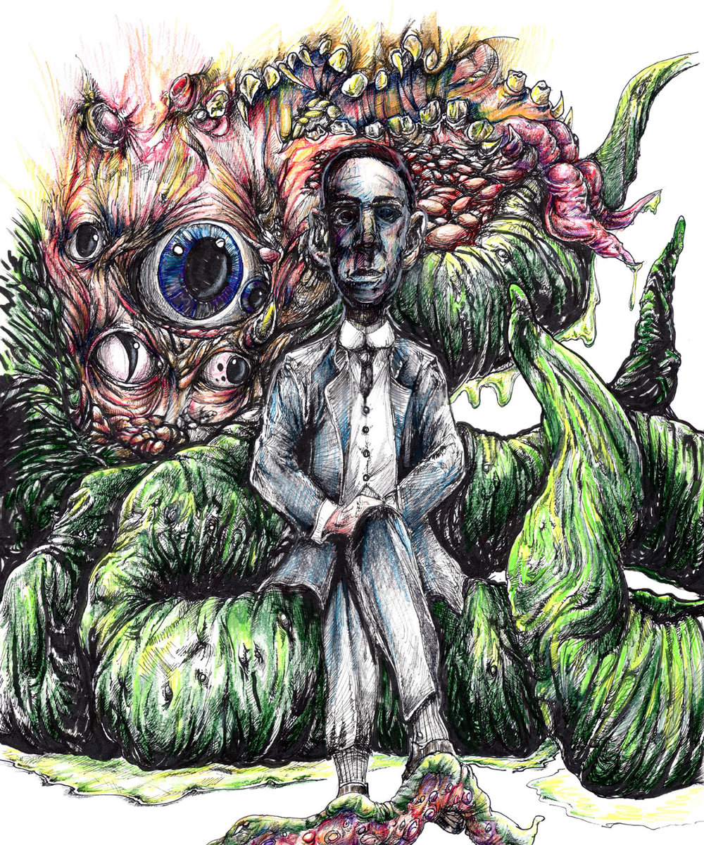 Hangin' with Mr Lovecraft $160