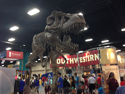 This dinosaur at Southwestern Adventist University was AMAZING!