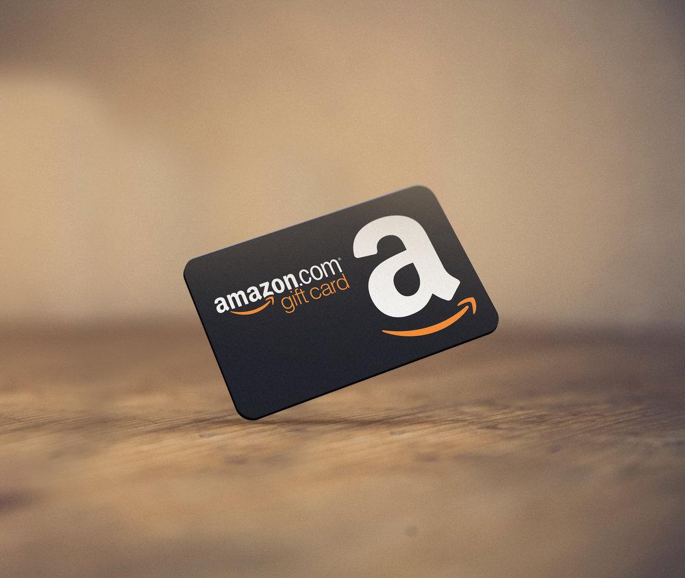 Amazon Gift Card ($20–$300)