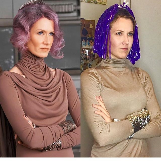 It's a repost but come on it's a holiday... May the fourth be with you. #lauradern #starwars #maytheforcebewithyou #maythefourthbewithyou