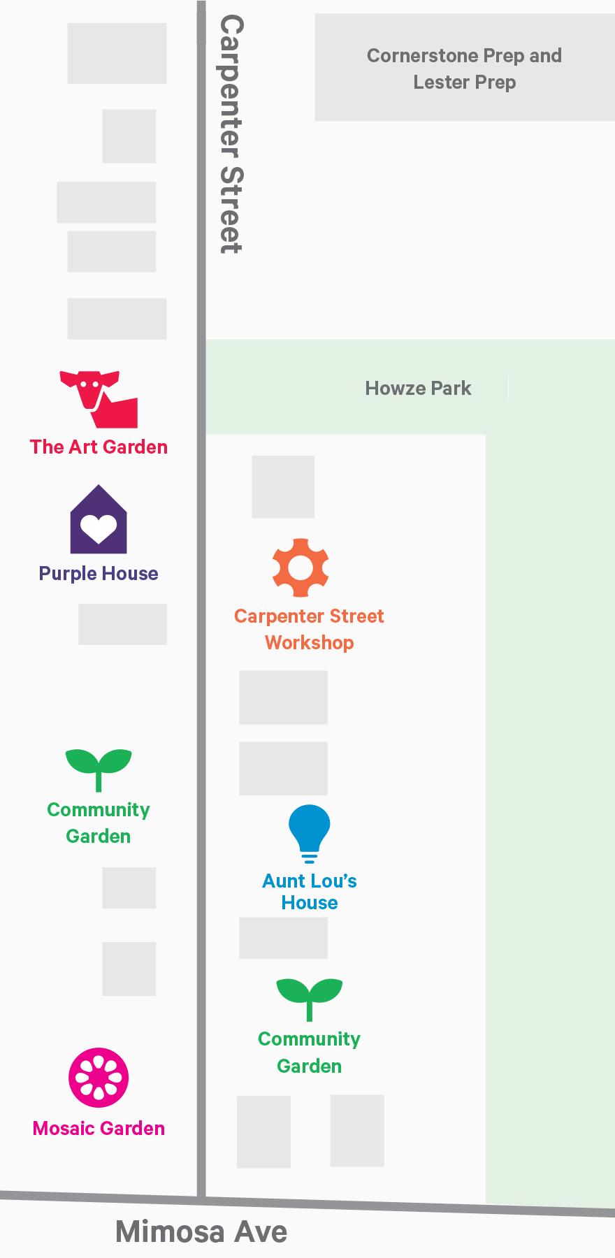 The Carpenter Art Garden campus