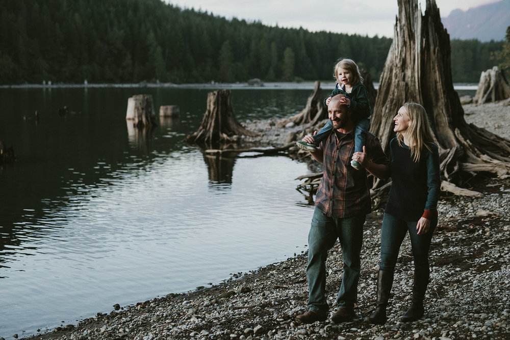 family rattlesnake lake