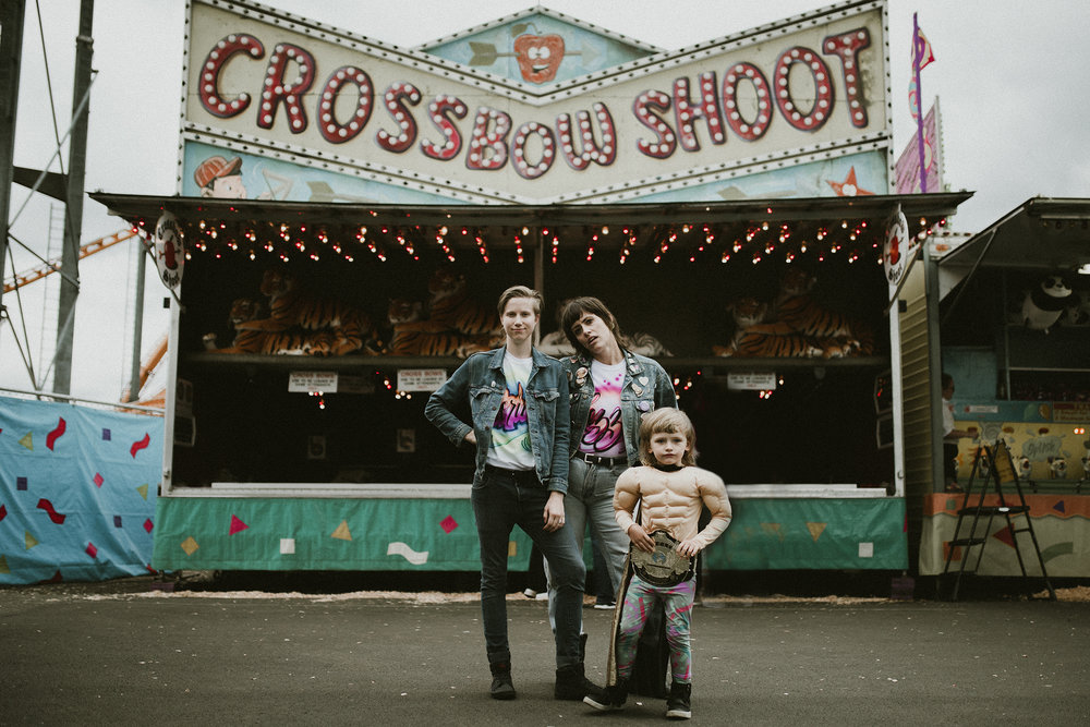 Family Photo Shoot Puyallup State Fair
