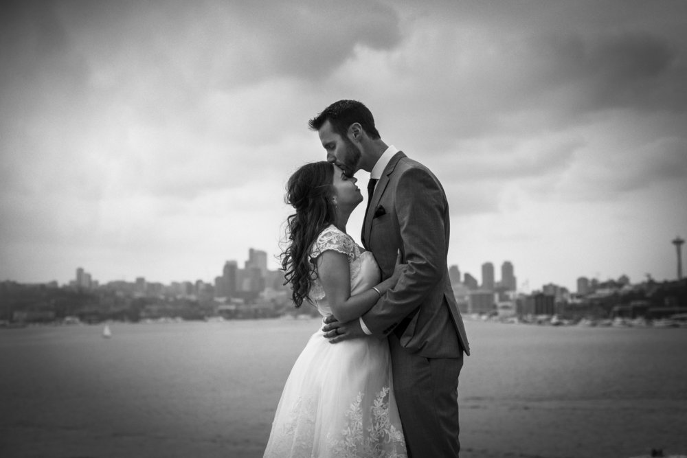 Seattle gasworks wedding photos