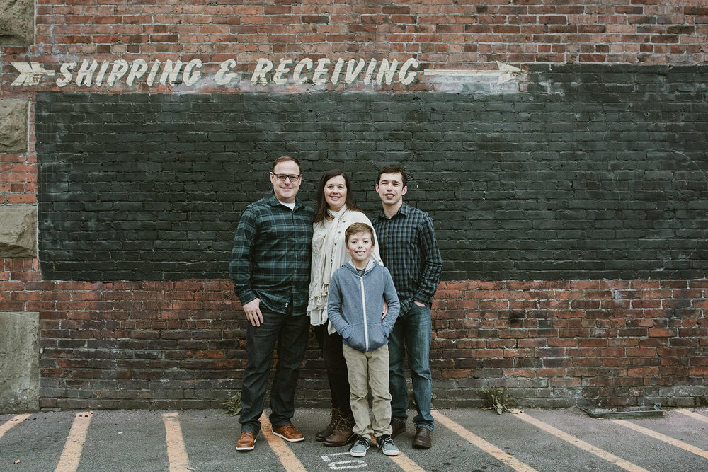 Georgetown Seattle Family Photos