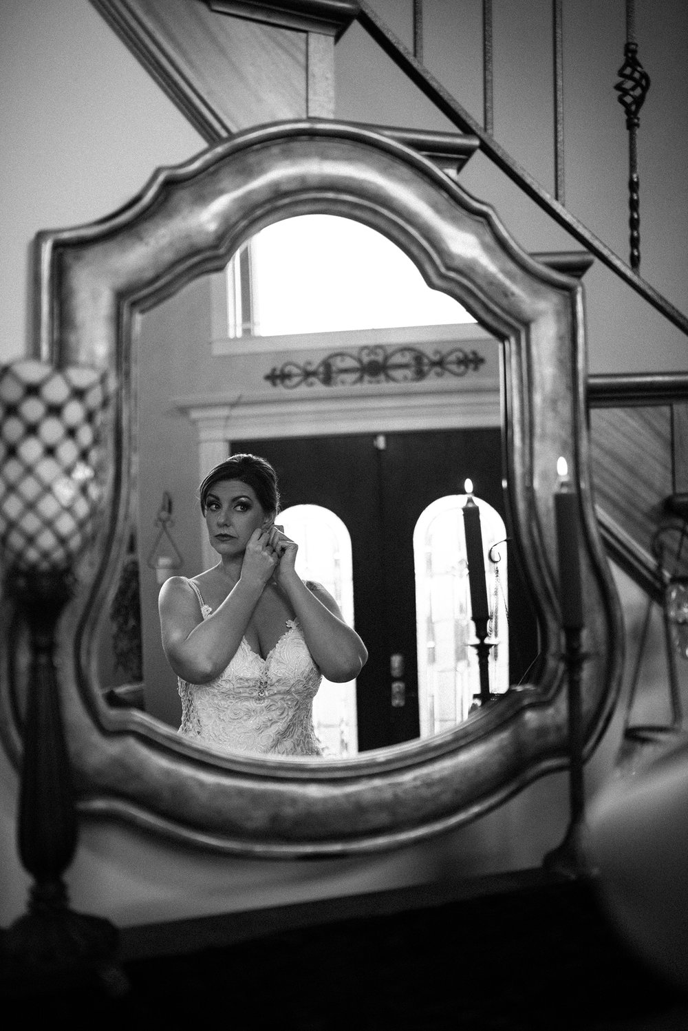 getting ready photos wedding