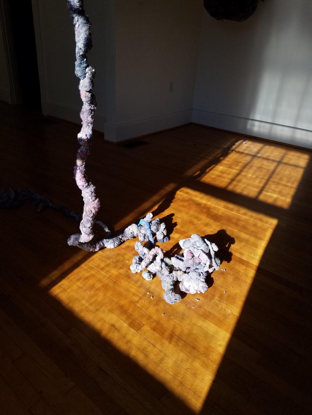 Howard el-Yasin, 2017, Domestic lint installation.