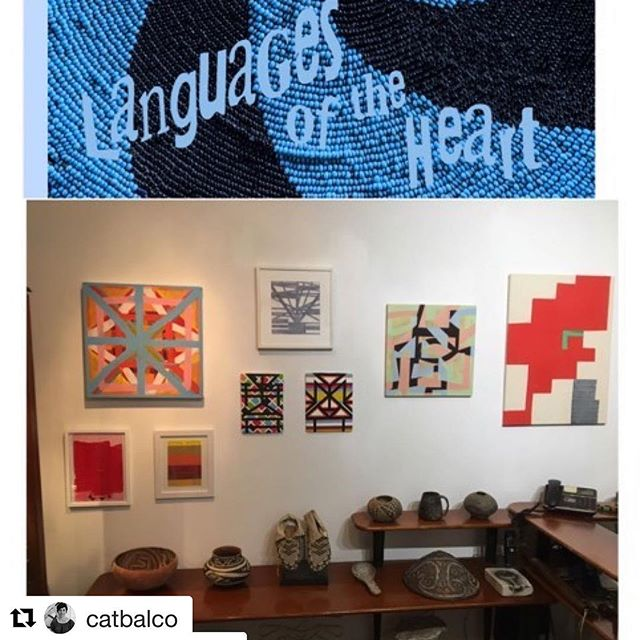 """Be sure to check out this upcoming exhibition featuring Cat Balco! #Repost @catbalco with @get_repost ・・・ I'm really excited to be a part of this show, which opens this Thursday from 6-8pm @johnmolloygallery - love to see you there!  Repost @lindsaywaltart with @get_repost ・・・ Side B of """"Languages of the Heart"""" at John Molloy Gallery 2/14-3/17/19. A call and response of contemporary artists to extraordinary indigenous works. #languagesoftheheart @johnmolloygallery @catbalco @glennandgoldberg @jillblevine @lizzierscott @laurelfarrin @colinhthomson @lindsaywaltart @highnoongallery"""