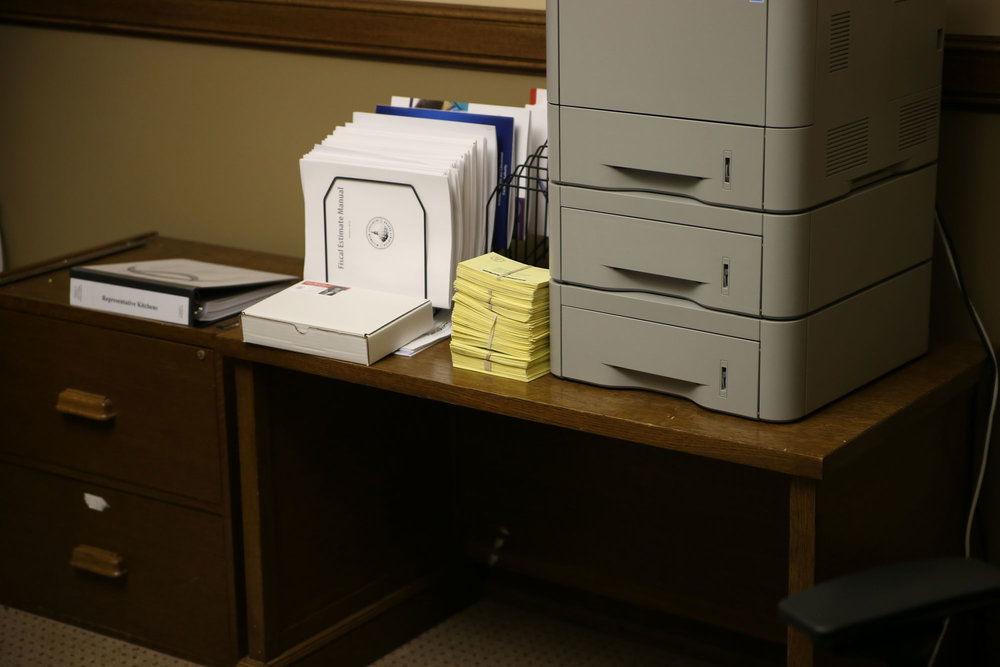 600+ Postcards in Senator Jacque's and Representative Kitchen's offices (with more arriving each day)