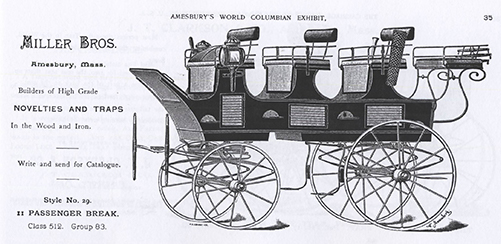Like olde time  carriage makers,  we build functional art! Image used with permission of  Amesbury Carriage Museum