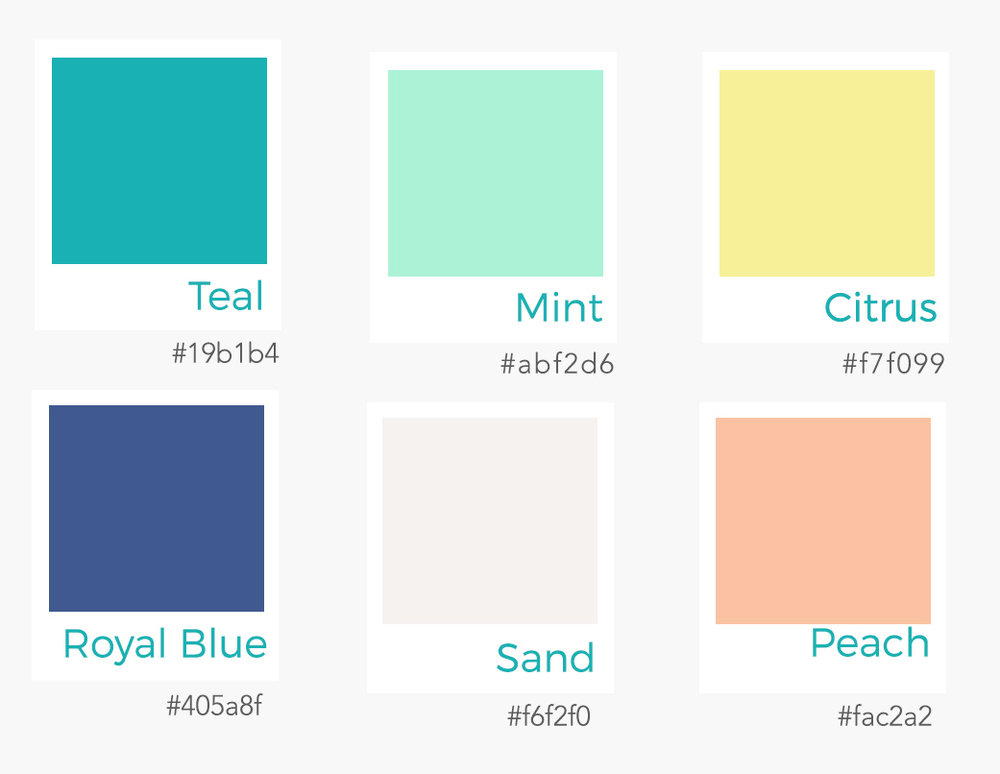 Brand Colour Palette
