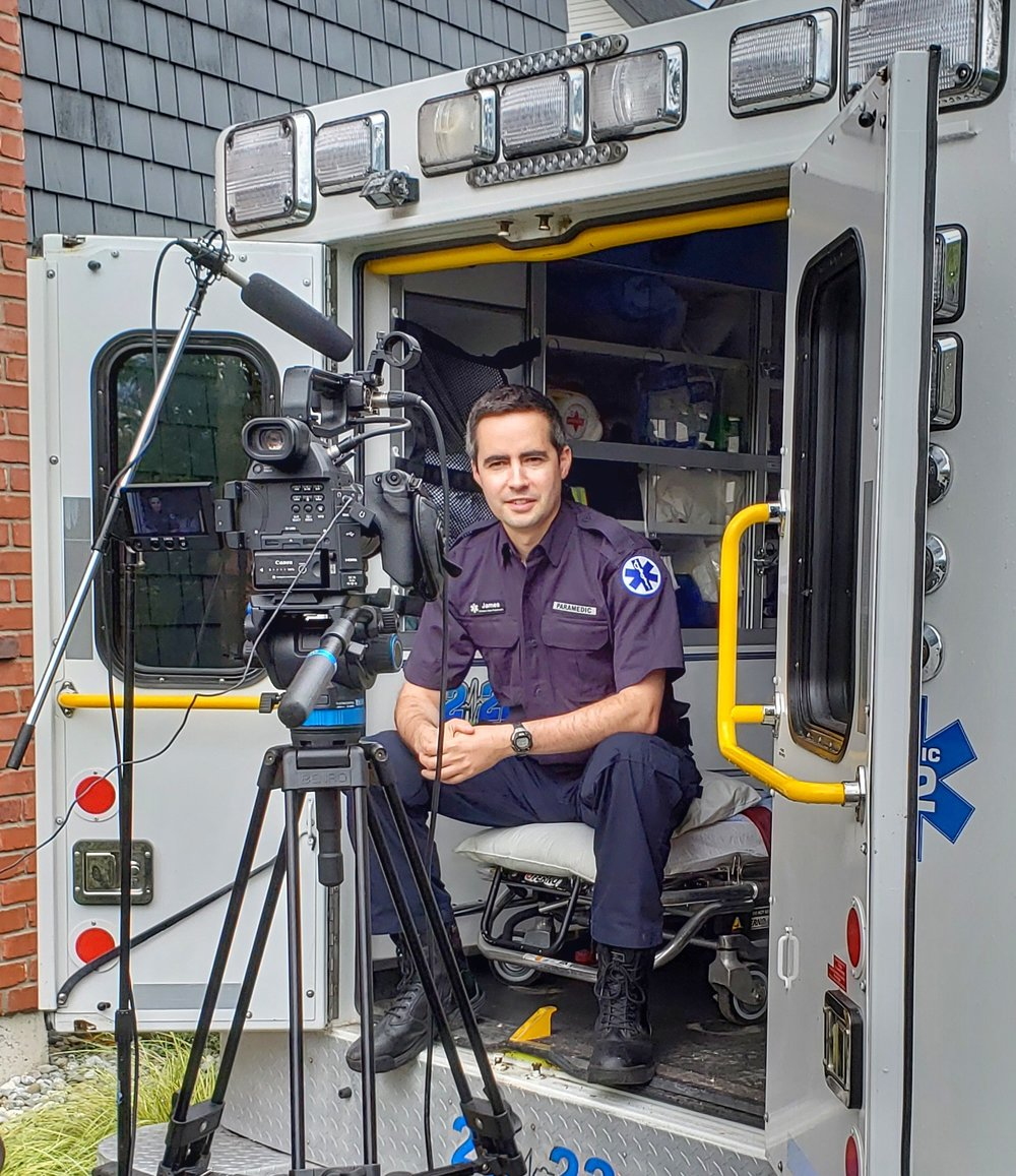 James Shearer, paramedic and creator of the Emergency Medical Translator.