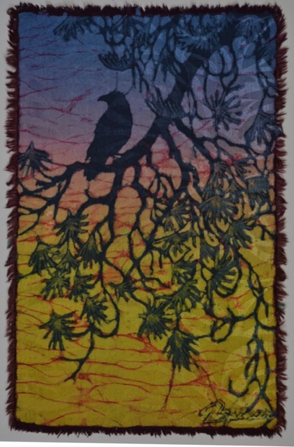 Awesome Crow Batik