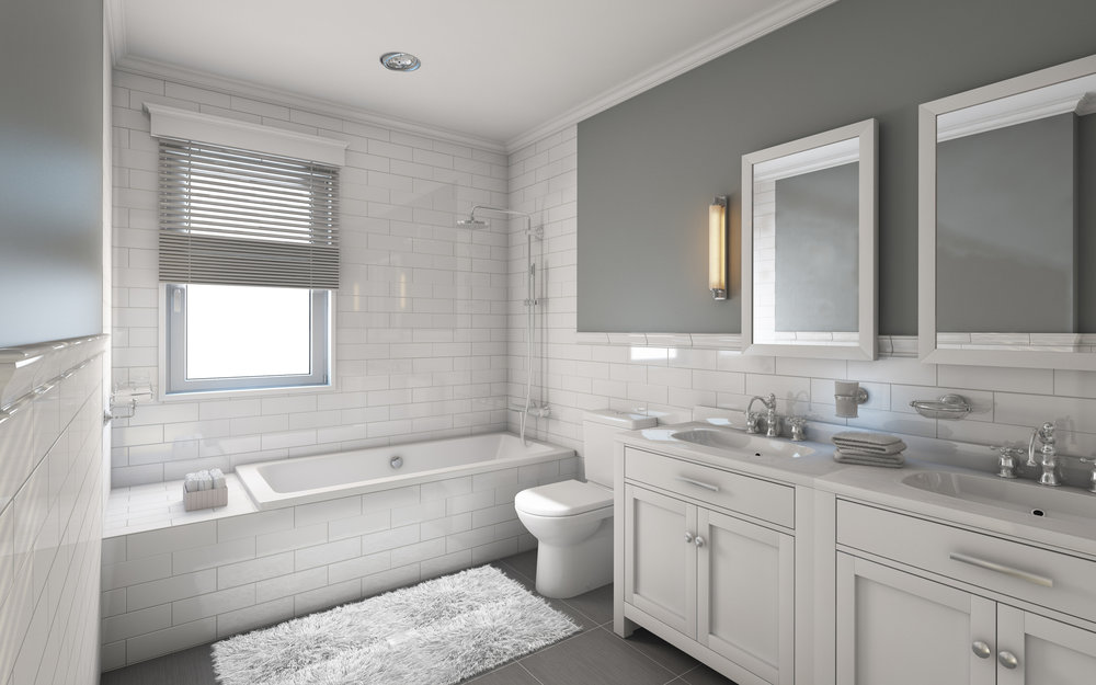 Bathrooms & Powder Rooms: - Clean and Sanitize the Shower/Tub, Toilet, and SinksDry Dust All Accessible SurfacesWipe Down All Mirror and Glass FixturesClean All Floor SurfacesTake Out Garbage and Recycling