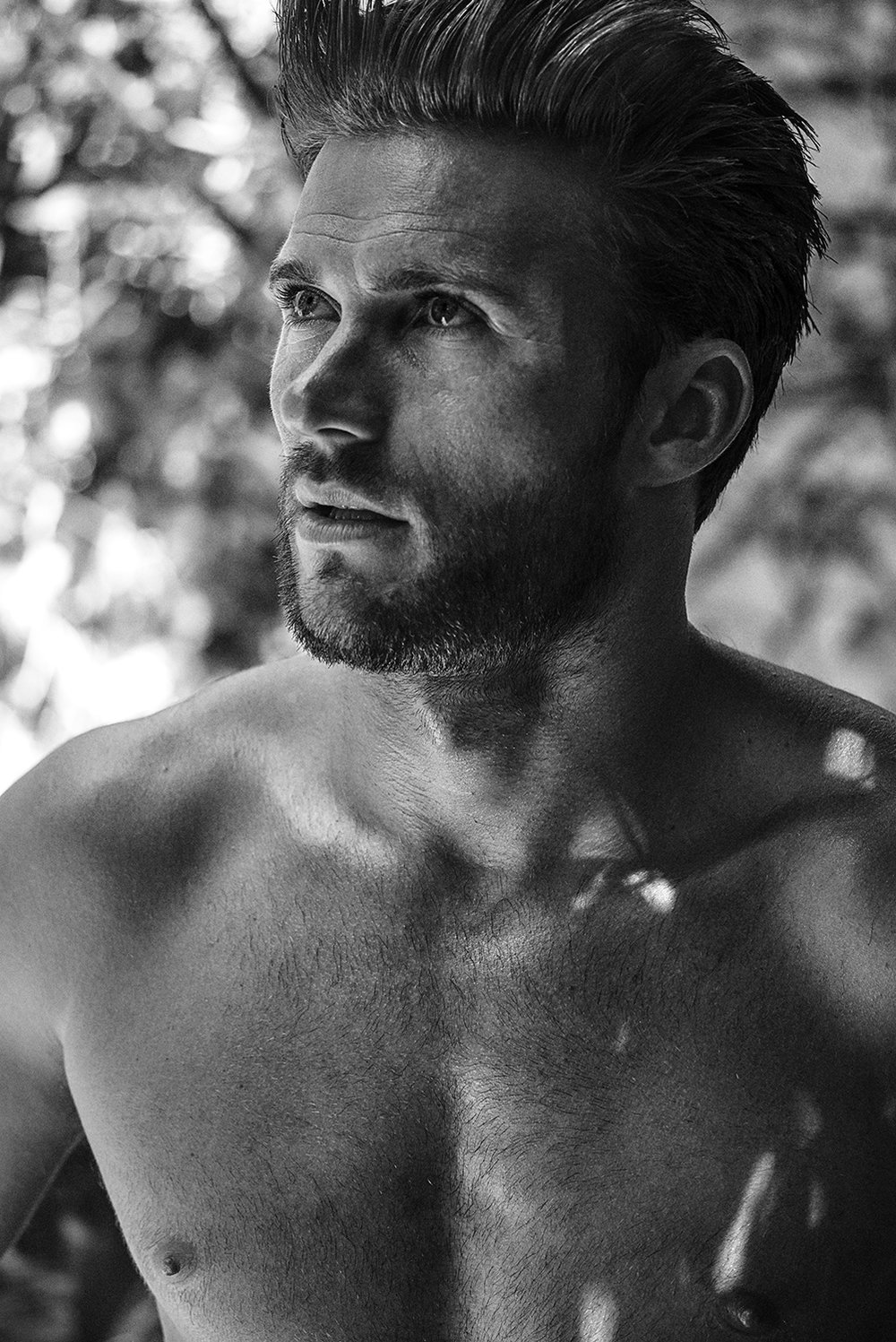 Scott Eastwood - Grooming by Mira Chai Hyde